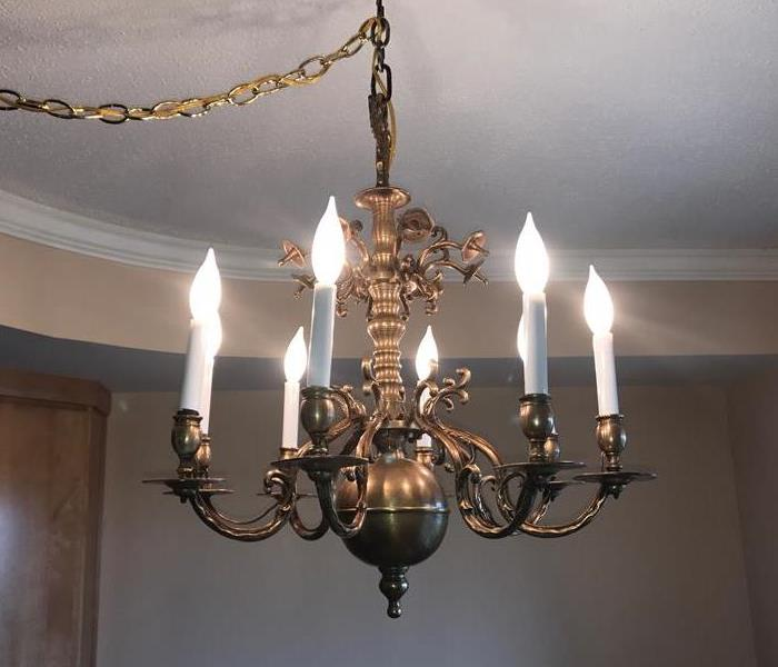 Heirloom Chandelier Restoration After