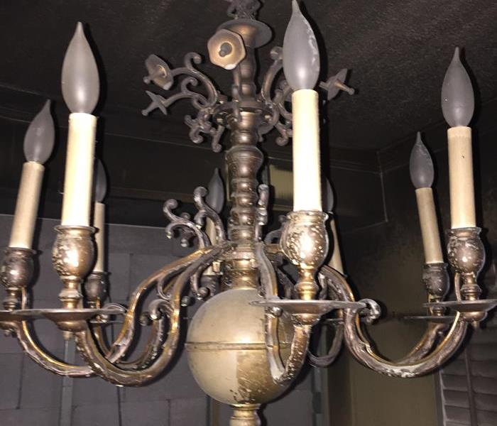 Heirloom Chandelier Restoration Before